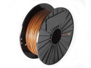 F3dfilament PLA  - brown 1 kg  1,75 mm